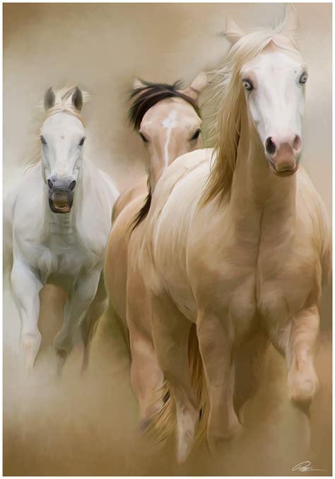 painting horses horses minerswildlifeart s