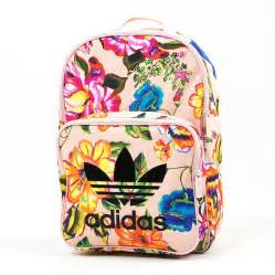 adidas originals backpack floral classic multicolor br4784 accessories backpacks brand