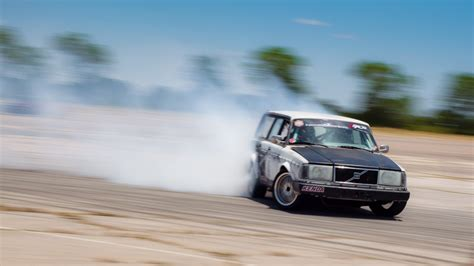 drift wagen small block chevy powered volvo wagon one unique drift