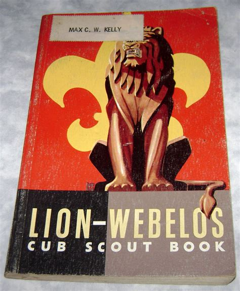 What Gift Cards Does Food Lion Sell - lion webelos cub scout book boy scouts of america from 1954 books manuals