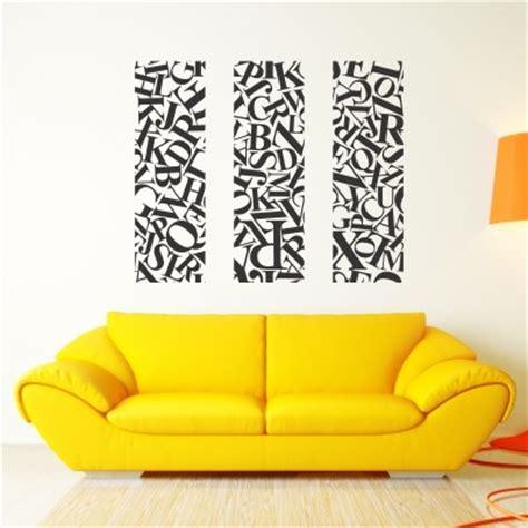 lettere per murales adesivo murale lettere ribelli stickers murali
