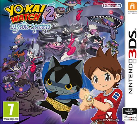 Kaset 3ds Yokai 2 Psychic Specters yo 2 psychic specters launches this fall in europe gematsu