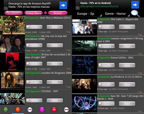 movietube pel 237 culas gratis para tablets y smartphones adnfriki - Movietube Android