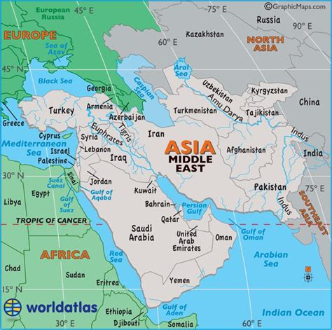 middle east map with cities large map of middle east easy to read and printable