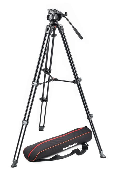 Manfrotto 190xpro4 Aluminium Tripod With Mhxpro 3w 3way Limited manfrotto mvk500am lightweight fluid tripod system with legs middle spreader