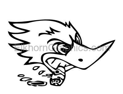 Racing Duck Sticker by Racing Cigar Duck Sticker Racing Stickers Elkhorn