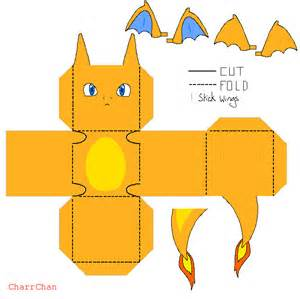 papercraft charizard template car interior design
