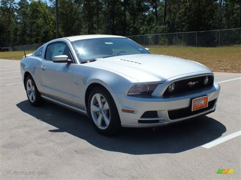 2013 mustang gt colors 2013 ingot silver metallic ford mustang gt coupe 69351745