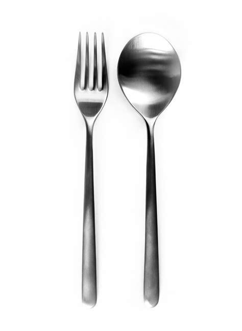 spoon and fork free coloring pages of spoon and fork