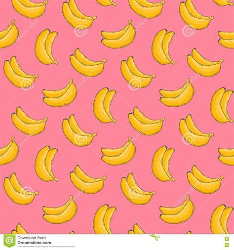 wallpaper banana hai banana vector pattern stock vector illustration of