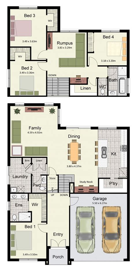 split plan tri level floor plans hotondo homes house plan best split