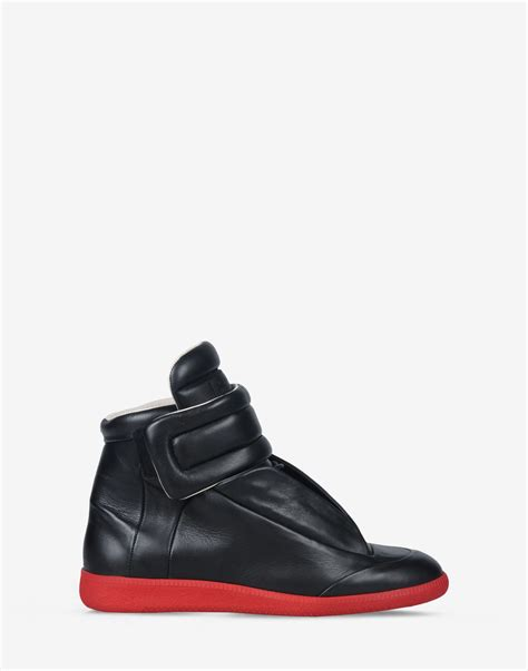 maison margiela sneakers mens maison margiela sneakers in black for lyst