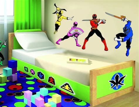 power rangers bedroom decor power rangers wall decor vinyl decal sticker art kids room