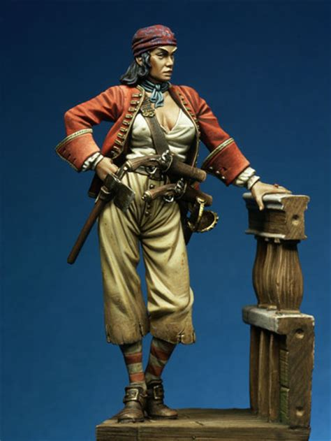 1 24 figures women model free shipping 1 24 scale resin figure pirate bonny in model building kits from toys