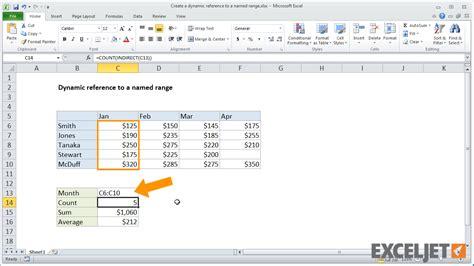 excel tutorial reference excel vba get cell address named range excel formula