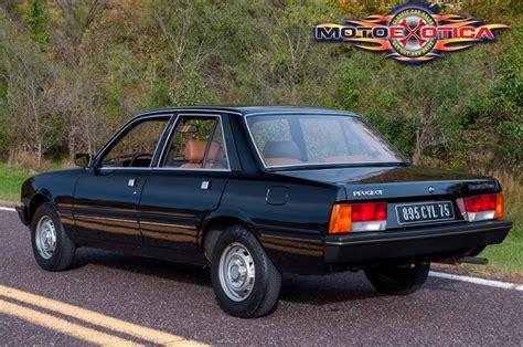 peugeot cars 1980 1980 peugeot 505 sti motoexotica car sales