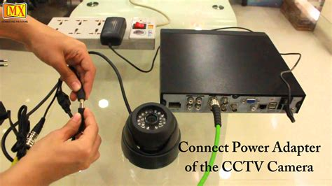 how to connect cctv s to the monitor using dvr