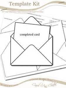 envelope template kit swing card template kit 1 sheet kit cup59053 359