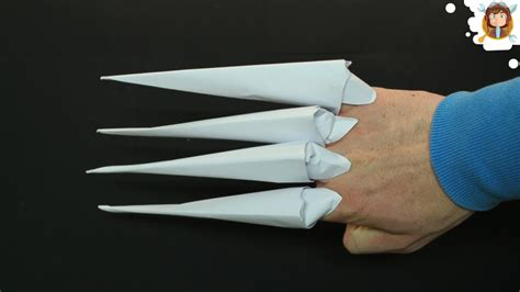 How To Make Claws Out Of Paper - maxresdefault jpg