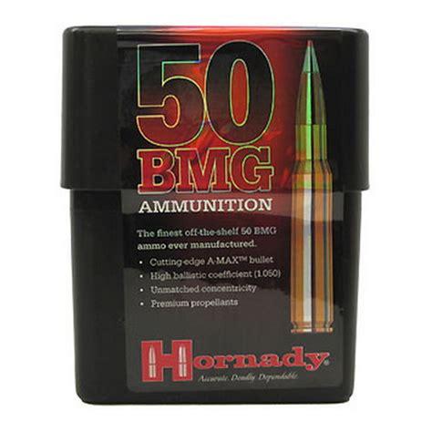 50 bmg reloading data hornady 50 bmg 750gr a max match ammunition 10