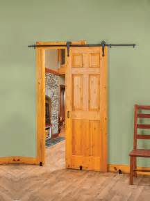Interior Barn Style Doors New Rolling Barn Style Door Hardware Creates Stylish Space Saving Interior Door Options Doors
