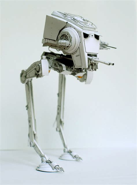 Papercraft At At - wars papercraft unofficial wars paper models