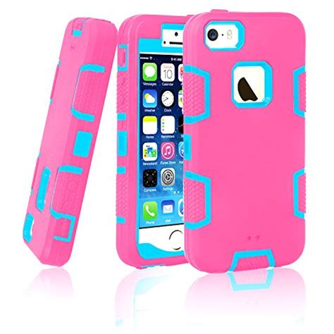 Fdt Iphone 5s iphone 5s iphone se ec 3in1 shock absorbing rubber combo hybrid impact