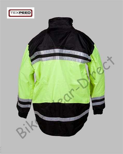 high visibility waterproof cycling jacket hi vis high visibility waterproof motorcycle bike cycling
