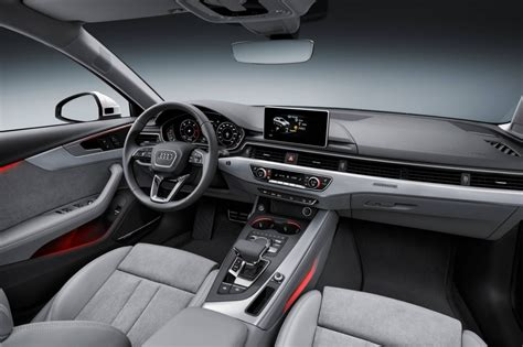 audi a4 2016 interior 2016 audi a4 allroad unveiled at detroit on sale in
