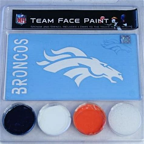 denver broncos team paint denver broncos