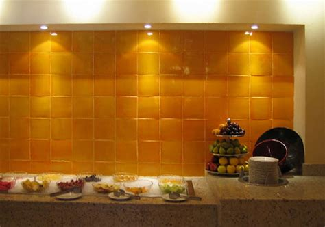 mexican tiles for kitchen backsplash mexicantiles backsplash with yellow mexican tile
