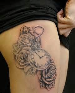 clock tattoos designs and ideas page 51