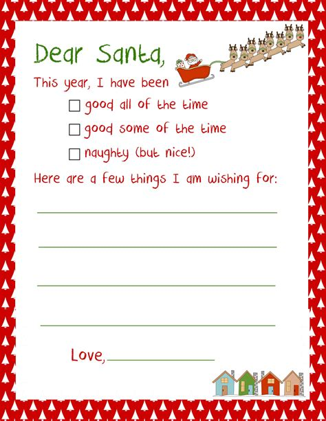 free printable letter to santa template cute christmas 20 letters to santa and printable envelopes christmas