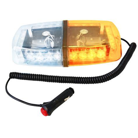 magnetic strobe lights hqrp 24 led white warning emergency vehicle strobe light magnetic ebay