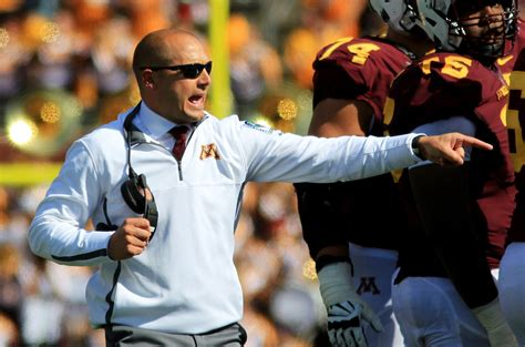 row the boat mn gophers gophers football new purdue coach s son is a fan of row