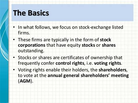 Mba Theory Of Consumption by Mba1034 Cg Ethics Week 2 Corporate Governance Intro