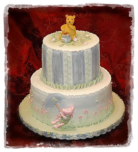Classic Baby Shower Cakes by Classic Pooh Baby Shower Cake Cakecentral