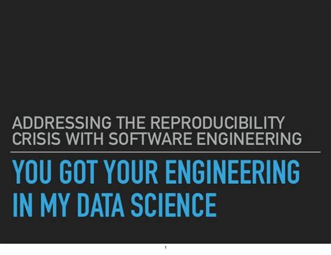 Software Engineer Stanford Mba Linkedin by You Got Your Engineering In My Data Science Addressing