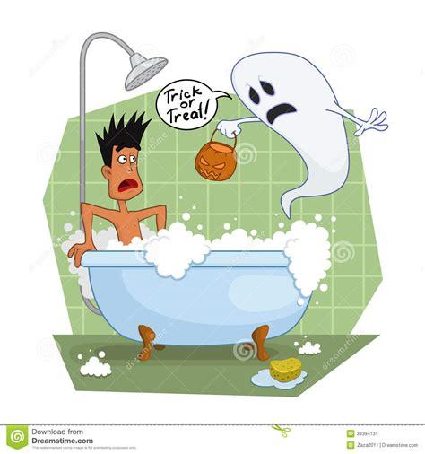 ghost in the bathroom ghost in the bathroom stock image image 33394131