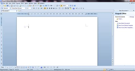 Free Office Programs Kingsoft Office 2012 A Free Office Suite For Windows I