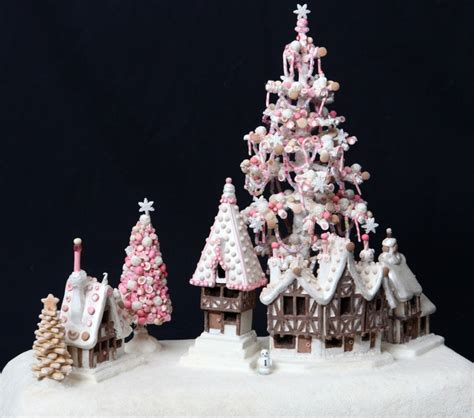 candy coated boat ride nyc 105 best gingerbread house village scenes images on