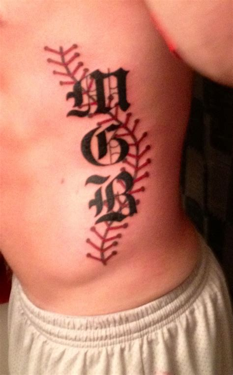 initial tattoos ideas 25 best baseball ideas images on