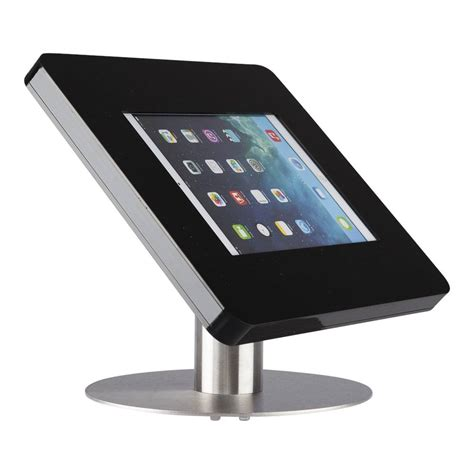 Desk For Tablet by Desk Stand For Tablets 9 11 Inch Black With Stainless