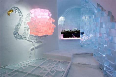 ice bedroom suite icehotel ski safari