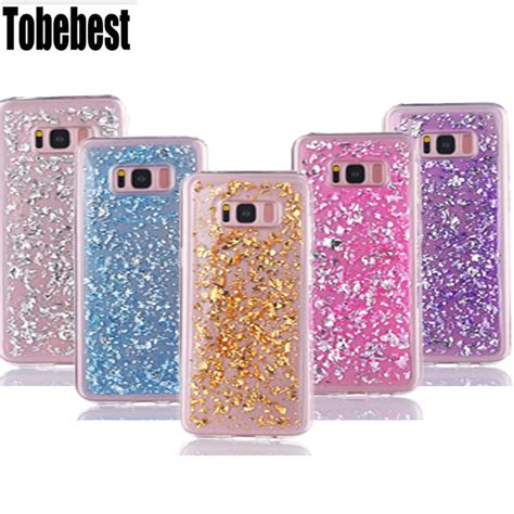 Glitter Samsung Galaxy S7 Edge Gold luxury liquid glitter soft tpu silicone gold for samsung galaxy s8 s8 plus s7 s7 edge s6