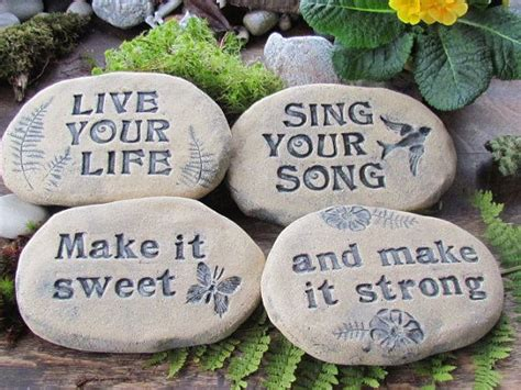 200 best inspirational poem stones for the garden images