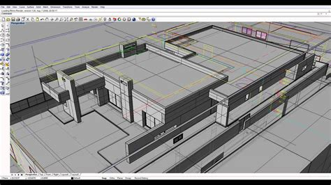 Rhinoceros Software 3d Modeling 1 modeling house prints and rhino 2012