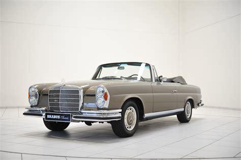 mercedes benz classic brabus classic mercedes 280 se cabriolet w111 picture 104976