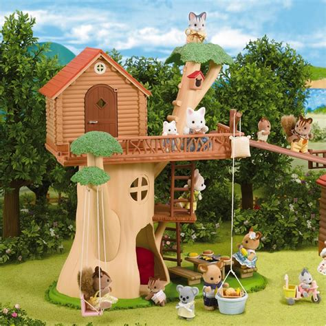 calico critters tree house calico critters adventure tree house creative kidstuff