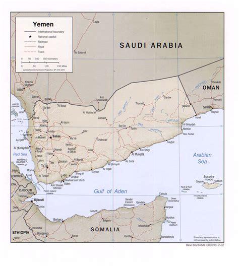 middle east map yemen yemen map middle east